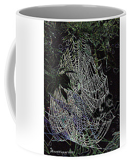Night Lines Coffee Mug by EricaMaxine  Price