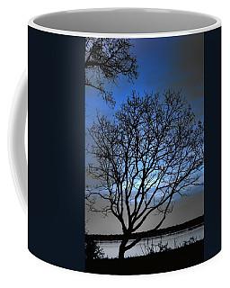 Night On The River Coffee Mug by Dan Stone