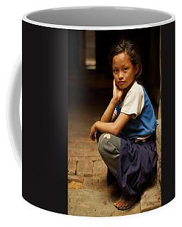 Nine Years Old Coffee Mug by Valerie Rosen