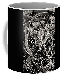 Coffee Mug featuring the photograph No More Plowing by Ron Cline