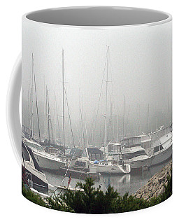 Coffee Mug featuring the photograph No Sailing Today by Kay Novy