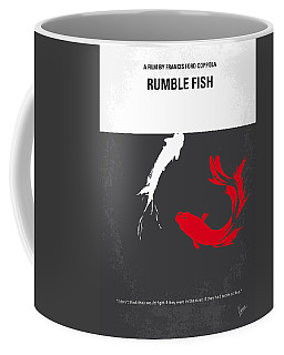 No073 My Rumble Fish Minimal Movie Poster Coffee Mug