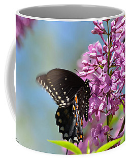 Nothing Says Spring Like Butterflies And Lilacs Coffee Mug