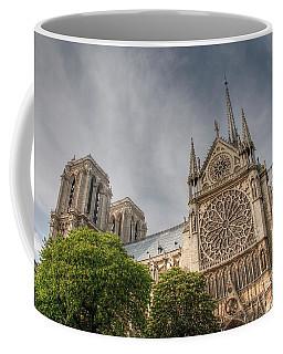 Coffee Mug featuring the photograph Notre Dame De Paris by Jennifer Ancker