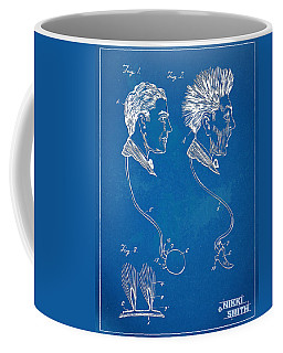 Novelty Wig Patent Artwork Coffee Mug