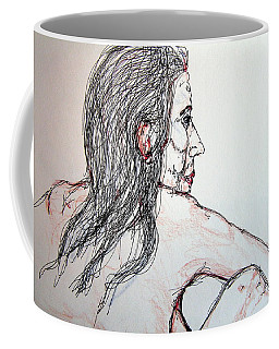 Nude Sitting Coffee Mug