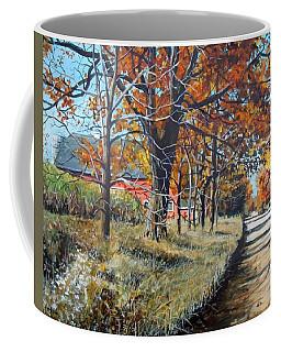 October Road Coffee Mug