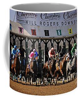 Oklahoma Horse Racing Coffee Mug