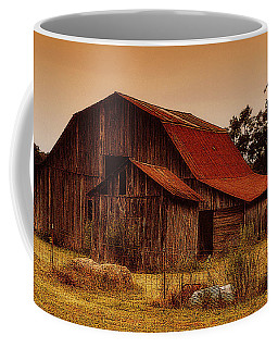 Coffee Mug featuring the photograph Old Barn by Lydia Holly