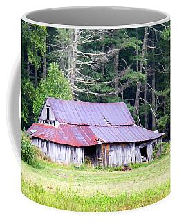 Old Barn Near Cashiers Nc Coffee Mug