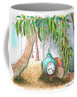Old Big Watch In Melrose Place Alley - West Hollywood - California Coffee Mug