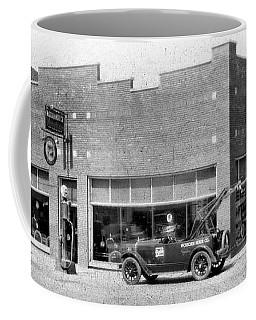 Old Car Gas Station Coffee Mug