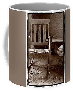 Old Chair Bodie California Coffee Mug