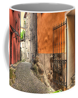 Old Colorful Rustic Alley Coffee Mug