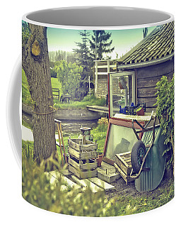Coffee Mug featuring the photograph Old Country House by Ariadna De Raadt