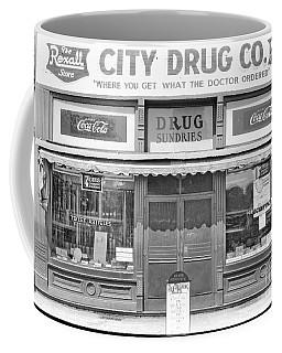 Old Drug Store Circa 1930 Coffee Mug