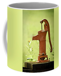 Coffee Mug featuring the photograph Old Fashioned Water Pump by Carolyn Marshall