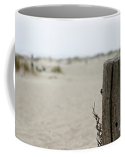 Old Fence Pole Coffee Mug
