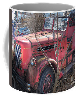 Old Firetruck Coffee Mug