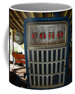 Old Ford Tractor Coffee Mug by Robert Margetts