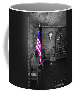 Coffee Mug featuring the photograph Old Glory by Deniece Platt