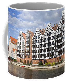 Old Granaries In Gdansk Coffee Mug