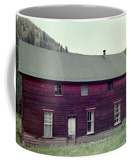 Coffee Mug featuring the photograph Old Hotel by Bonfire Photography
