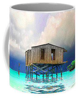 Old House Near The Storm Filtered Coffee Mug