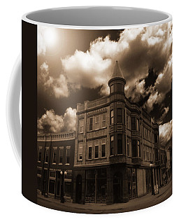 Old Menominee Corner Store Building Coffee Mug