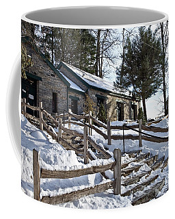 Old Rock Building  Coffee Mug