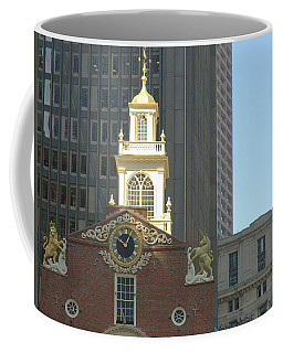 Old South Meeting House Coffee Mug by Bruce Carpenter