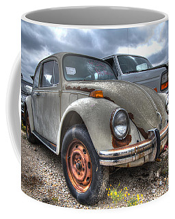 Old Vw Beetle Coffee Mug