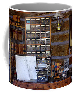 Coffee Mug featuring the photograph Old West 3 by Deniece Platt