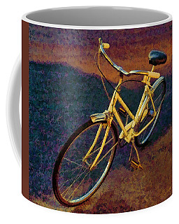 Coffee Mug featuring the painting Old Yellow by Steven Richardson