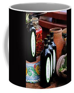 Olives And Olive Oil Coffee Mug
