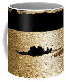 On Golden Waters Coffee Mug