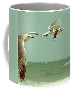 On The Wings Of A Seagull Coffee Mug