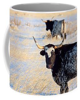 Coffee Mug featuring the photograph Open Range by Jim Garrison