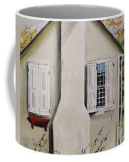 Open Shutter Coffee Mug by John Williams