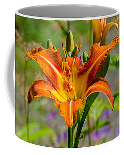 Coffee Mug featuring the photograph Orange Day Lily by Tikvah's Hope