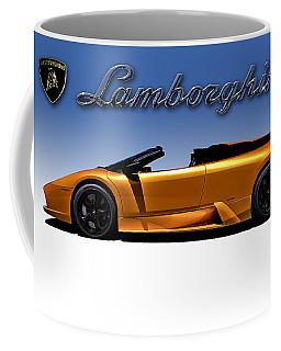 Orange Murcielago Coffee Mug