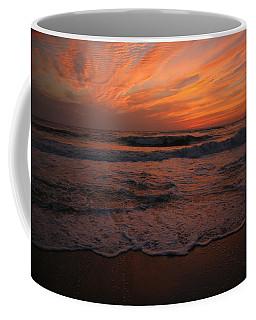 Orange To The End Coffee Mug