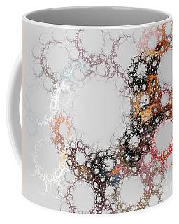 Coffee Mug featuring the digital art Orbital by Kim Sy Ok