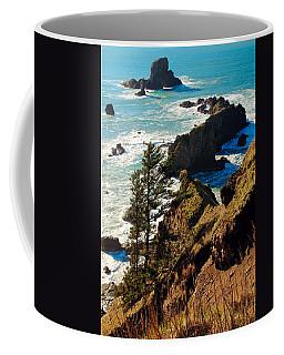 Coffee Mug featuring the photograph Oregon Coast by Athena Mckinzie