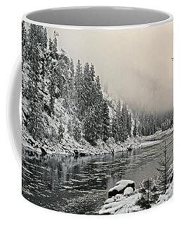 Orofino Snow Clearwater River Coffee Mug