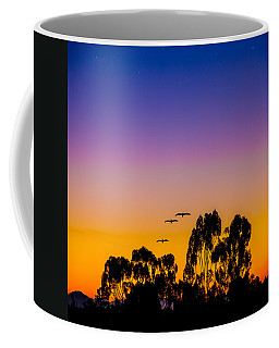 Coffee Mug featuring the photograph Osibisa Dawn by Chris Lord