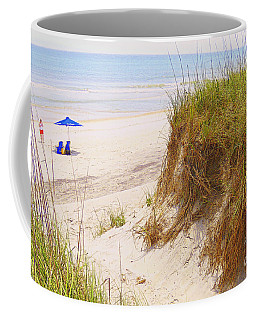 Coffee Mug featuring the photograph Outerbanks by Lydia Holly