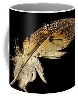 Owl Feather With Water Coffee Mug