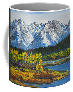 Oxbow-grand Tetons  Coffee Mug