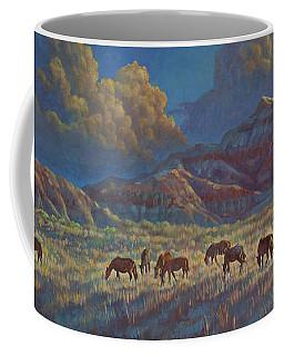 Painted Desert Painted Horses Coffee Mug